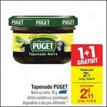 Bon Plan Tapenade Puget chez Carrefour - anti-crise.fr