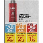 Shampoing Men Schwarzkopf chez Carrefour - anti-crise.fr