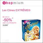 Offre de Remboursement Shopmium : Jusqu'à 50% sur Les Cônes Extrême® de Nestlé® - anti-crise.fr