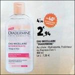 Bon Plan Eau Micellaire Diadermine chez Leclerc - anti-crise.fr