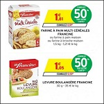 Bon Plan Francine : Farine à Pain et Levure Boulangère chez Intermarché - anti-crise.fr
