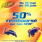 Offre de Remboursement Hasbro : 50% Remboursés sur ton Nerf - anti-crise.fr