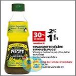 Bon Plan Vinaigrette Puget chez Auchan - anti-crise.fr