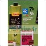 Huile d'Olive Bio Soléou chez Auchan - anti-crise.fr