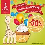 Offre de Remboursement Sophie la Girafe : 50% Remboursés sur le 2ème Article - anti-crise.fr