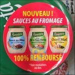 Offre de Remboursement Bénédicta : Sauce au Fromage 100% Remboursé - anti-crise.fr