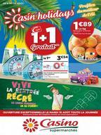 Casino du 8 au 20 août