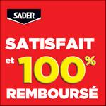 Offre de Remboursement Sader® : Colle Fixer Sans Percer 100% Matériaux 100% Remboursé - anti-crise.fr