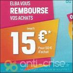Offre de Remboursement Elba : Jusqu'à 15€ Remboursé - anti-crise.fr