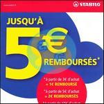 Offre de Remboursement Stabilo : Jusqu'à 5€ Remboursés - anti-crise.fr