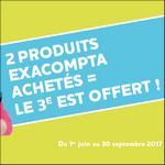 Offre de Remboursement Exacompta : 3ème Produit 100% Remboursé - anti-crise.fr