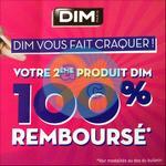 Offre de Remboursement Dim : 2ème Produit 100% Remboursé - anti-crise.fr