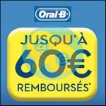 Offre de Remboursement Oral-B : Jusqu'à 65€ sur les Produits Electriques Rechargeables - anti-crise.fr