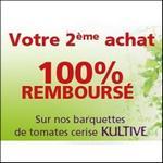 Offre de Remboursement Kultive : 2ème Barquettes de Tomates Cerise 100% Remboursée - anti-crise.fr