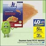 Bon Plan Saumon Fumé Petit Navire chez Carrefour - anti-crise.fr