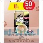 Bon Plan Soupe pour Chat Sheba chez Intermarché - anti-crise.fr