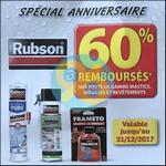 Offre de Remboursement Rubson : 60% sur Mastics, Mousses et Revêtements - anti-crise.fr
