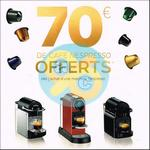 Offre de Remboursement Nespresso : 70€ sur votre Machine en Bons d'achat - anti-crise.fr