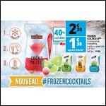 Bon Plan Cocktails à Glacer Frozen chez Auchan - anti-crise.fr