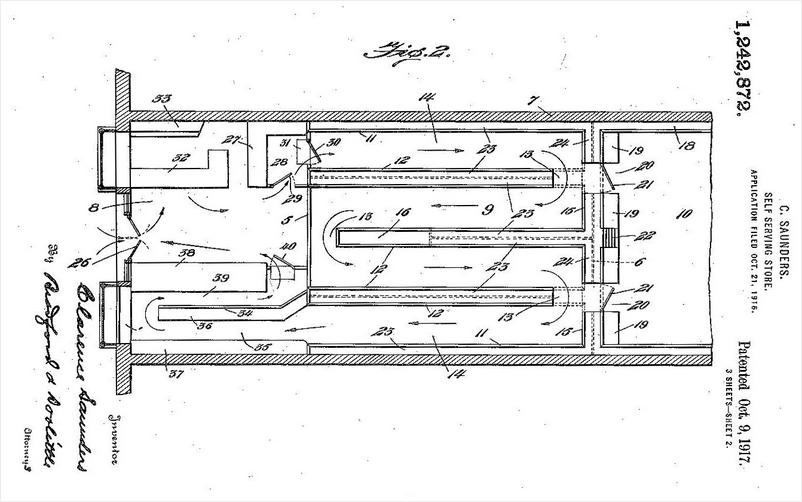 la-grande-distribution-extrait-du-brevet-sur-le-libre-service