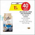 Bon Plan Délices du Jour Shéba chez Intermarché - anti-crise.fr