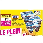 Bon Plan Danette le Liégeois chez Cora - anti-crise.fr