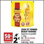 Bon Plan Croquettes Chat Croc et Tendre Friskies chez Auchan - anti-crise.fr