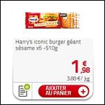 Bon Plan Moment Burger Harrys chez Auchan
