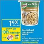 Bon Plan Pastabox Knorr chez Cora - anti-crise.fr