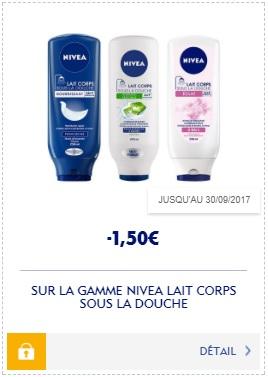 Bon Plan Lait Corps Sous La Douche Nivea Partout