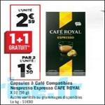 Bon Plan Capsules Café Royal chez Géant Casino - anti-crise.fr
