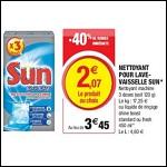Bon Plan Nettoyant Sun chez Magasins U - anti-crise.fr