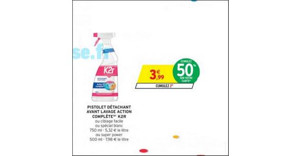 Bon Plan Détachant K2R chez Intermarché - anti-crise.fr