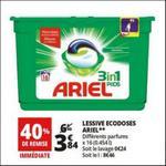 Bon Plan Lessive Ariel Pods 3en1 chez Auchan - anti-crise.fr