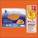 Bon Plan Saumon de Norvège Petit Navire chez Magasins U - anti-crise.fr