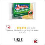 Bon Plan Eponge Spontex chez Intermarché - anti-crise.fr