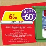 Bon Plan Lessive Ariel Pods 3en1 chez Intermarché - anti-crise.fr