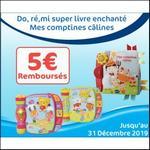Offre de Remboursement Vtech : 5€ Remboursés sur Do, Ré, Mi Super Livre Enchanté ou Mes Comptines Câlines - anti-crise.fr