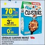 Bon Plan Céréales Clusters de Nestlé chez Carrefour Market - anti-crise.fr