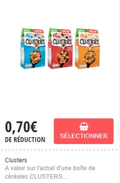 Coupons reduction cereales