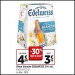 Bon Plan Bière Edelweiss chez Géant Casino - anti-crise.fr