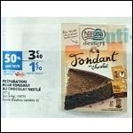 Bon Plan Préparations pour Gâteaux Nestlé Dessert chez Auchan - anti-crise.fr