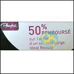 Offre de Remboursement Playtex : Soutien-Gorge Idéal Beauty 50% Remboursé - anti-crise.fr