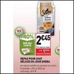 Bon Plan Délices du Jour Sheba chez Simply Market - anti-crise.fr