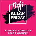Tirage au Sort Black Friday : 5 Cartes Cadeaux de 200€ à Gagner - anti-crise.fr