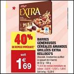 Bon Plan Barres de Céréales Extra chez Carrefour Market - anti-crise.Fr