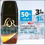 Bon Plan Café Soluble L'Or chez Auchan - anti-crise.fr