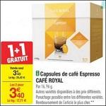 Bon Plan Capsules Café Royal pour Dolce Gusto chez Carrefour - anti-crise.fr