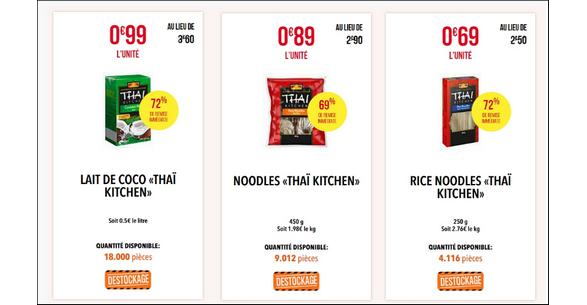 Bon Plan Produits Thaï Kitchen chez Netto - anti-crise.fr