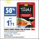 Bon Plan Sauce Thaï Kitchen chez Carrefour Market - anti-crise.fr